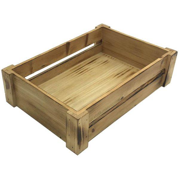 Scorched Pine Mini Crate 341x230x89