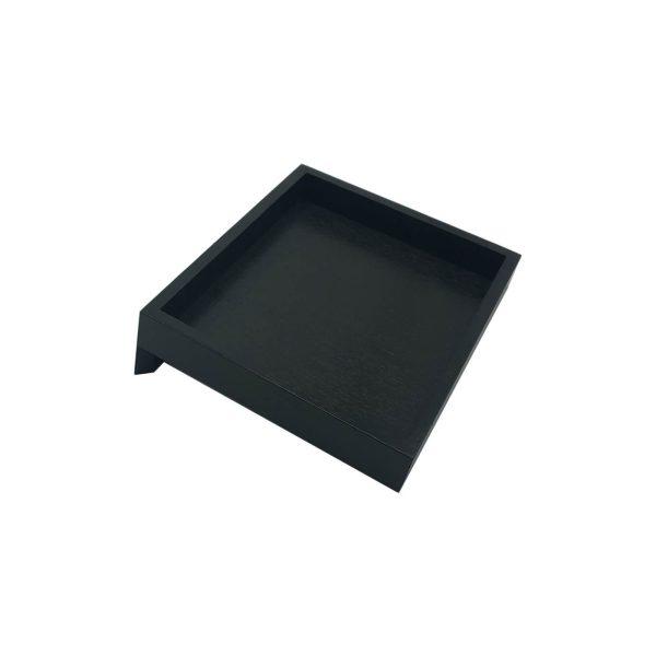 Black Oak Cake & Sandwich Tilted Riser 250x300x75