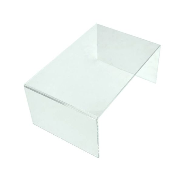 Clear Acrylic Square Riser 225x150x100