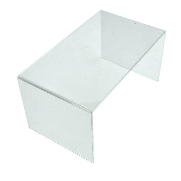 Clear Acrylic Square Riser 250x150x120
