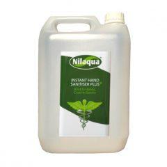 Nilaqua instant hand sanitiser plus Refill 5l