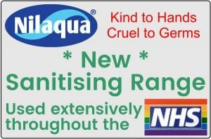 Nilaqua sanitising range