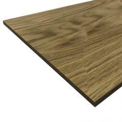 oak veneered board 230x320x6 detail