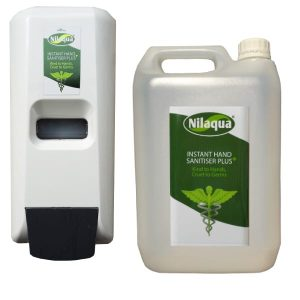 Nilaqua Sanitiser Plus Starter Kit