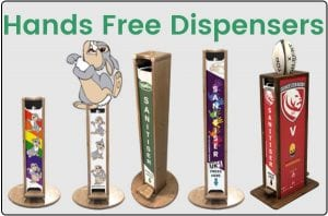 hands free dispensers