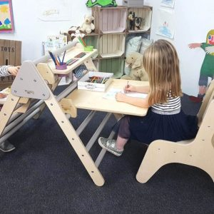 Nursery Desk Set Natural