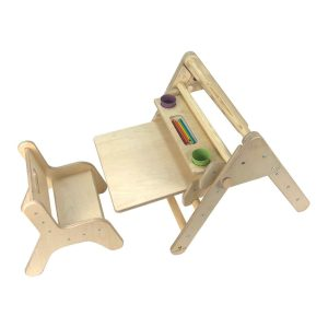 Ligneus Nursery Pikler Desk Set