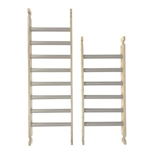 Ligneus Pikler Climbing Ladders Gretton Grey