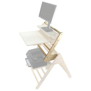 Pikler desk extender Highlighted in senior Pikler Desk set