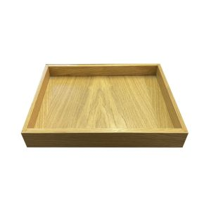 Oak Tray 320x218x42 side view