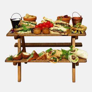 Food Display Risers