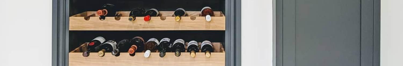 Shaker Kitchen Wine Rack Inserts