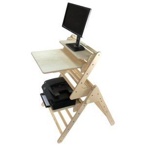 Full Adult Standing Desk Set
