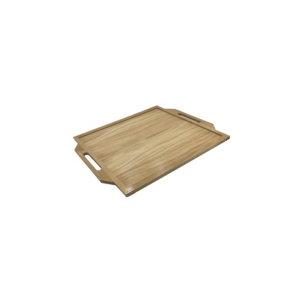 Mini Oak Butlers Tray 400x330x36